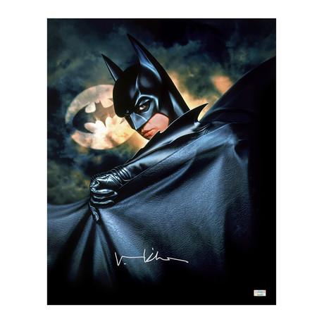 Val Kilmer // Batman Forever // Autographed Poster Art