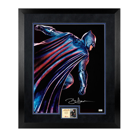 Ben Affleck // Batman vs Superman: Dawn of Justice // Autographed + Framed Photo