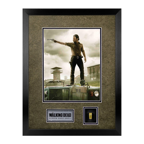 The Walking Dead // Screen Used Bullet // Framed Display