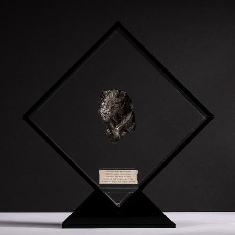 Siberian Sikhote Alin Meteorite + Acrylic Display // Ver. 2