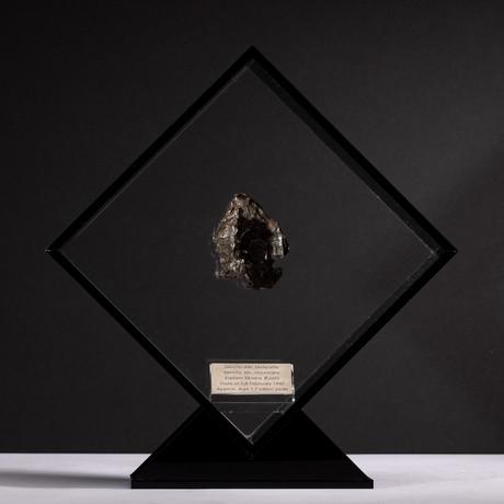 Siberian Sikhote Alin Meteorite + Acrylic Display // Ver. 3