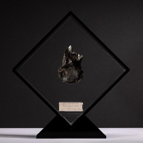 Siberian Sikhote Alin Meteorite + Acrylic Display // Ver. 1
