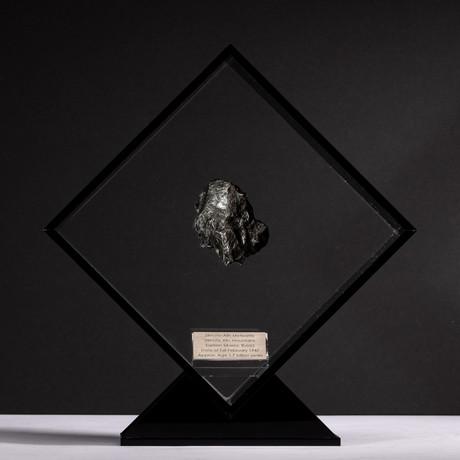 Siberian Sikhote Alin Meteorite + Acrylic Display // Ver. 5