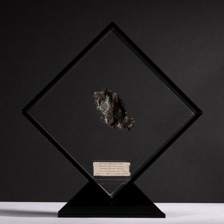 Siberian Sikhote Alin Meteorite + Acrylic Display // Ver. 4
