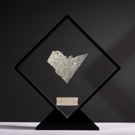 Magadanskaya Oblast Seymchan Meteorite + Acrylic Display // Ver. 2