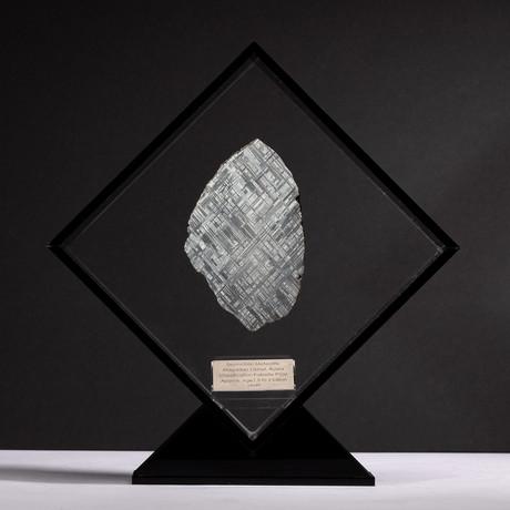 Swedish Muonionalusta Meteorite + Acrylic Display