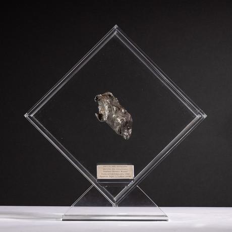 Siberian Sikhote Alin Meteorite + Acrylic Display // Ver. 9