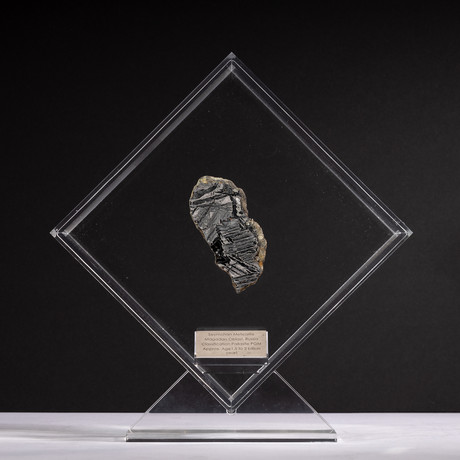 Magadanskaya Oblast Seymchan Meteorite + Acrylic Display // Ver. 4