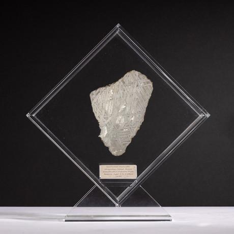 Magadanskaya Oblast Seymchan Meteorite + Acrylic Display // Ver. 3