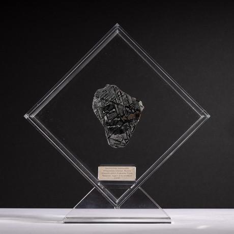 Magadanskaya Oblast Seymchan Meteorite + Acrylic Display // Ver. 6