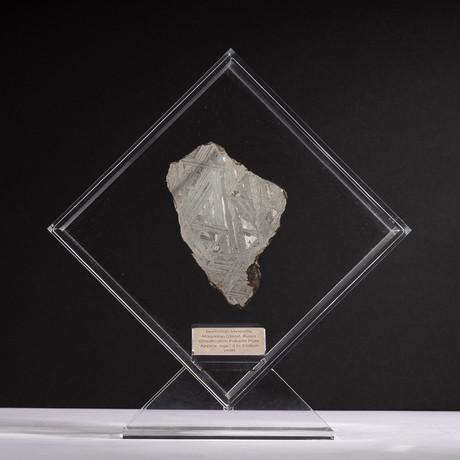 Magadanskaya Oblast Seymchan Meteorite + Acrylic Display // Ver. 5