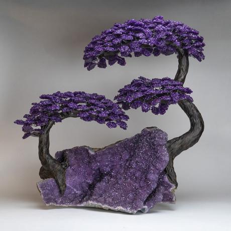 The Protection Tree // Amethyst Tree + Amethyst Matrix // Massive