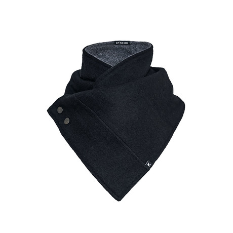 Crossover Cowl // Charcoal Black