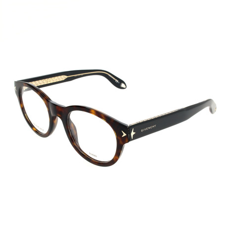 Unisex GV-0031-9WZ Optical Frames // Havana + Black Crystal