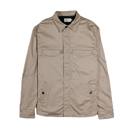 Ellis Shirt Jacket // Khaki (S)