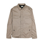 Ellis Shirt Jacket // Khaki (M)