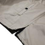 Ellis Shirt Jacket // Khaki (M)