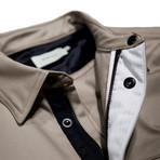 Ellis Shirt Jacket // Khaki (S)