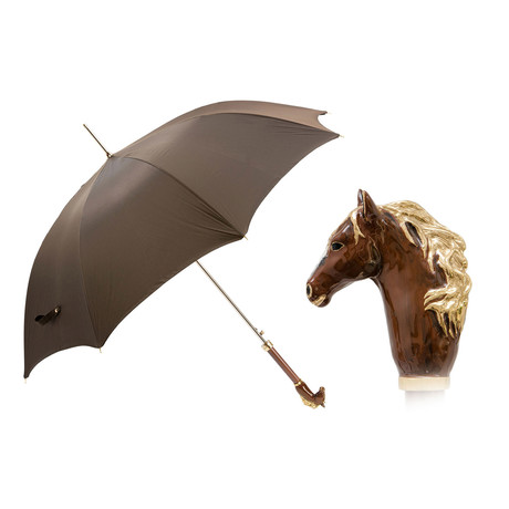 Long Umbrella // Brown Horse Handle