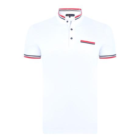 Fitz Short Sleeve Polo Shirt // White (XS)