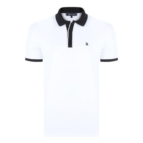 Harden Short Sleeve Polo Shirt // White (XS)