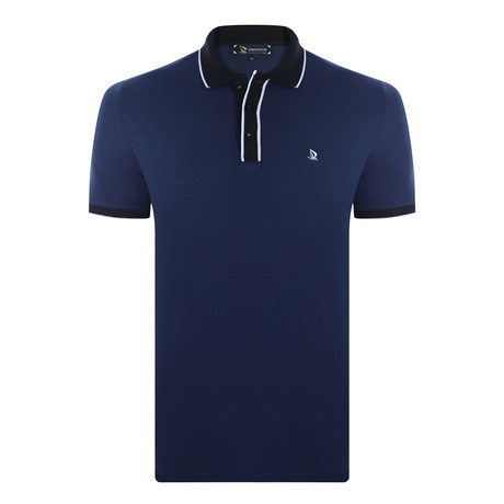 Max Short Sleeve Polo Shirt // Navy (XS)