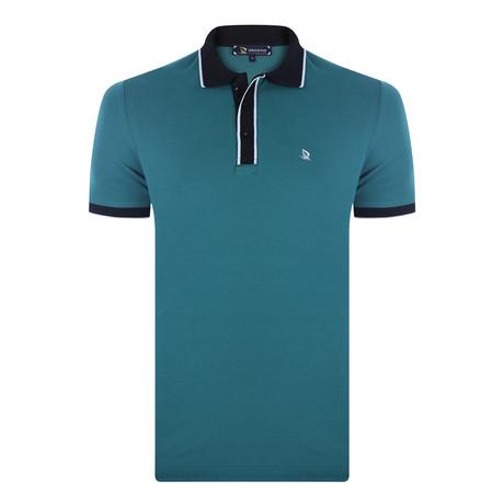 Allen Short Sleeve Polo Shirt // Green (XS)