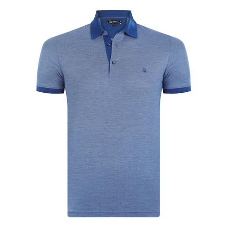 Sedona Short Sleeve Polo Shirt // Sax (XS)