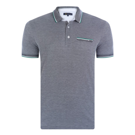 Tahoe Short Sleeve Polo Shirt // Navy (XS)