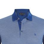 Sedona Short Sleeve Polo Shirt // Sax (S)