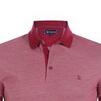Jeff Short Sleeve Polo Shirt // Bordeaux (S)