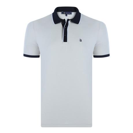 Travis Short Sleeve Polo Shirt // Stone (XS)
