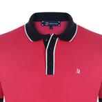 Edgar Short Sleeve Polo Shirt // Fuchsia (3XL)