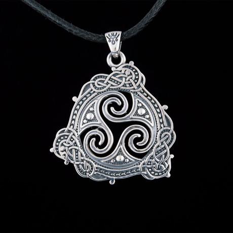 Triskelion Symbol Pendant