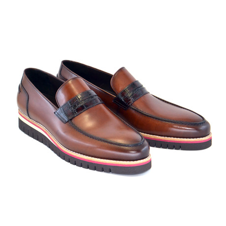 Casual Penny Loafer // Brown (US: 7)