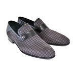 High Vamp Loafer + Contrast Stitching // Gray (US: 9)