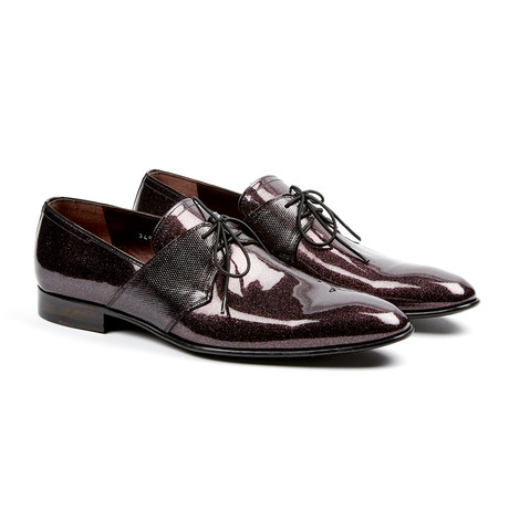 Polished Derby // Burgundy (US: 7)