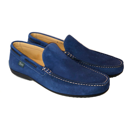 Starter Plain Loafer // Blue Suede (US: 7)