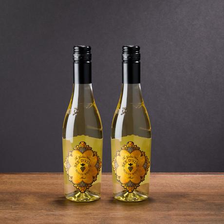 Glass & Wine 375ml Honey Wine Pack // Mixed Pack + Berele Glass (Set of 6)
