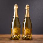 Sparkling Brut Honey Wine // Set of 2 // 750 ml Each