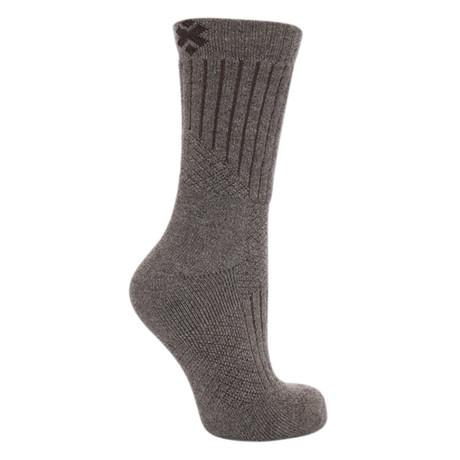 The Purists // Ulta-soft Yak Wool Socks // Weathered Stone (Medium)