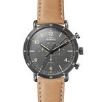Shinola The Canfield Sport Chronograph Quartz // S0120089891 // Store Display
