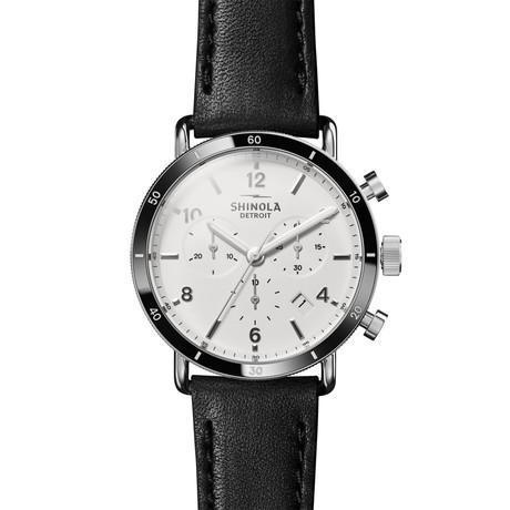 Shinola The Canfield Sport Chronograph Quartz // S020089888 // Store Display