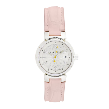 Louis Vuitton Ladies Tambour Quartz // Q121K // Pre-Owned