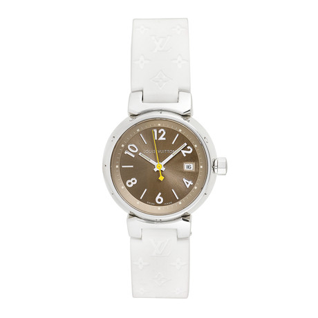 Louis Vuitton Ladies Tambour Quartz // Q1212 // Pre-Owned