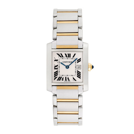 Cartier Ladies Tank Francaise Quartz // 2465 // Pre-Owned