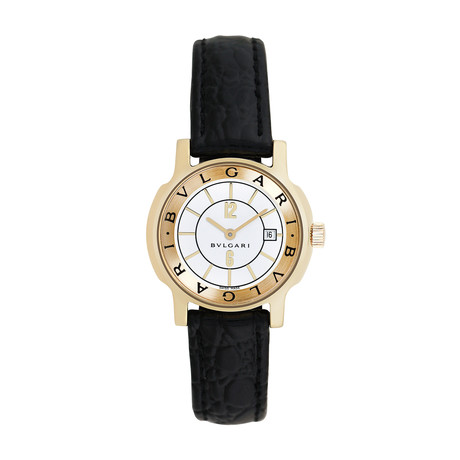 Bulgari Ladies Solotempo Quartz // ST29G.1 // Pre-Owned
