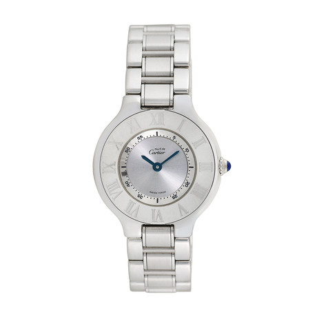 Must de Cartier Ladies Quartz // 1340 // Pre-Owned
