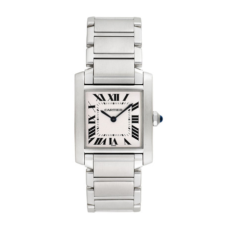 Cartier Ladies Tank Francaise Quartz // 2301 // Pre-Owned