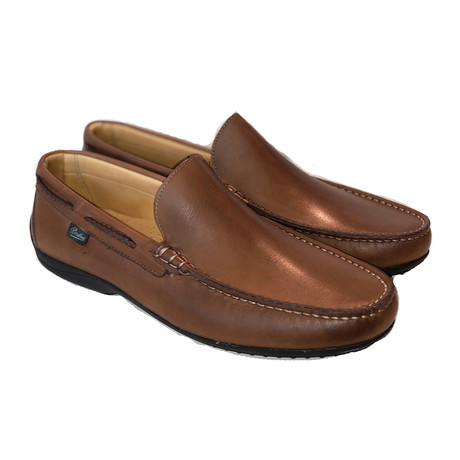 Starter Plain Loafer // Brown Leather (US: 7)